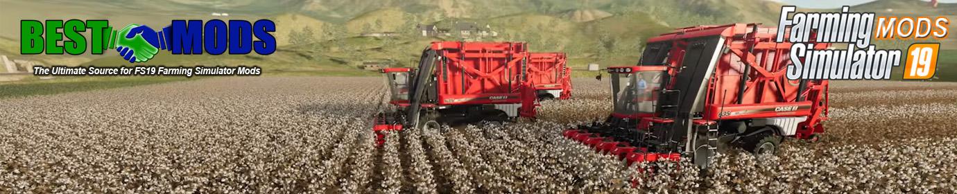 Best Mods Banner Case IH Cotton Harvester Cotton Harvesting